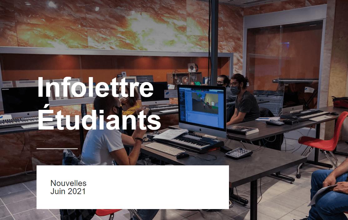 Infolettre Musitechnic Juin 2021